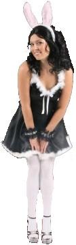 Sexy Bunny Black