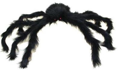 Spin Zwart 60cm