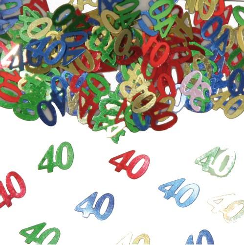 Confetti 40 Jaar