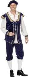 Kostuum Burchtheer Dark Blue
