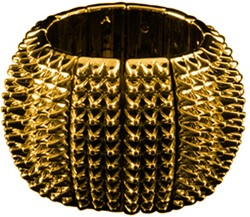 Armband Disco Spike Goud