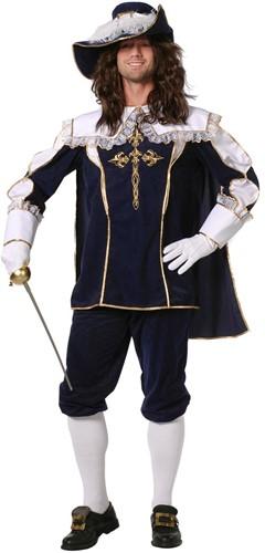 Herenkostuum Musketier Luxe