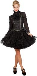 Luxe Piratenblouse Zwart met Top voor dames