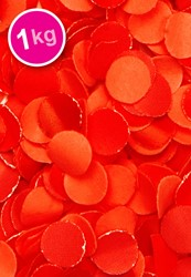 Confetti 1 Kilo Brandveilig Rood