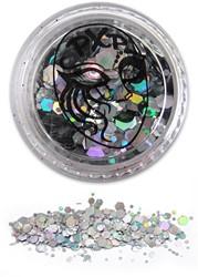 PXP Glitters Grof Zilver (Sparkling Silver) 5gr.
