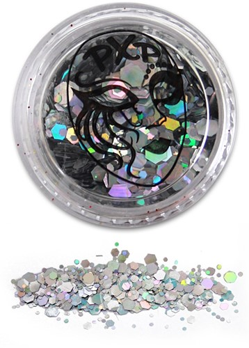 PXP Glitters Grof Zilver (Sparkling Silver) 5gr.