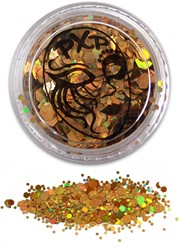 PXP Glitters Grof Goud (Sparkling Gold) 5gr.