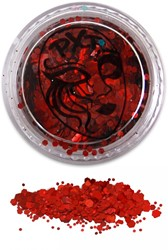 PXP Glitters Grof Rood (Fire Red) 5gr.