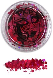 PXP Glitters Grof Pink (Flamingo Pink) 5gr.