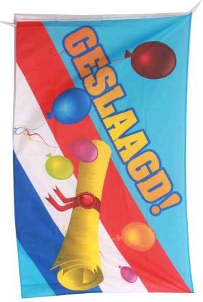 Vlag Geslaagd Nederland 150x90cm