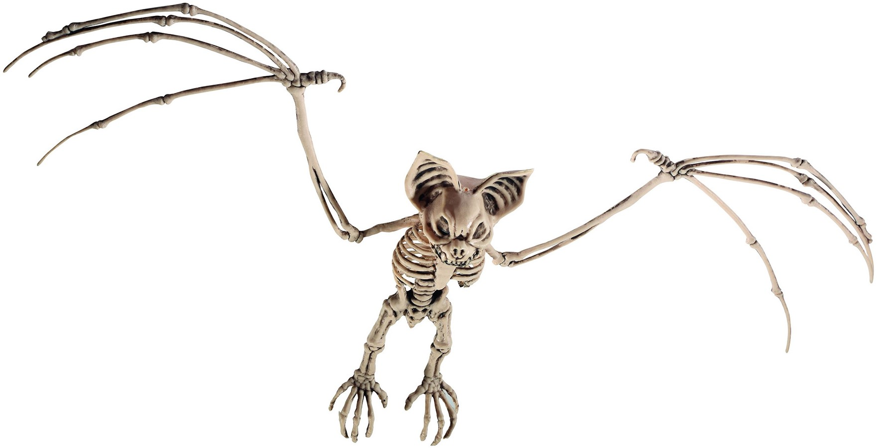 Skelet Voor Halloween.Halloween Hangdecoratie Skelet Vleermuis 72x32cm