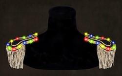 Epauletten Zwart-Goud met Multi LED-verlichting