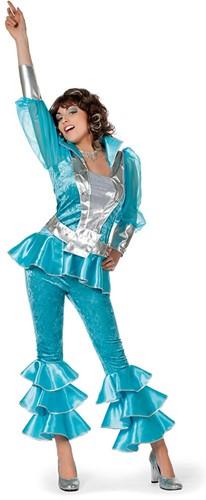 Dameskostuum Mama Mia Luxe Turquoise