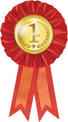 Medaille Rozet 1e Goud