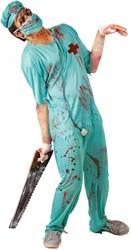 Halloweenkostuum Zombie Chirurg