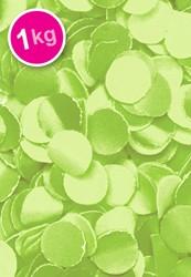 Confetti 1 Kilo Brandveilig Lime Groen