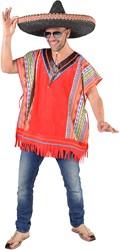Mexicaanse Poncho Inka voor heren