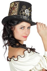 Hoge Hoed Steampunk Lacey Luxe