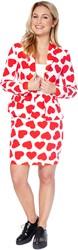 Dameskostuum OppoSuits Queen of Hearts
