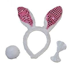Bunny Setje Pailletten