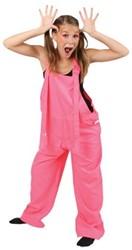 Tuinbroek Fluor Pink