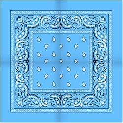 Zakdoek Lichtblauw (54x54cm)