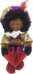 Decoratie Zwarte Piet Luxe met Boek (35cm)