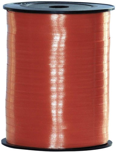 Cadeaulint Rood 10mm Breed, 250m op Rol