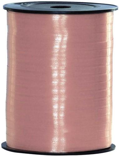Cadeaulint Baby Roze 5mm Breed, 500m op Rol