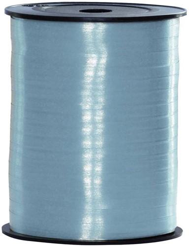 Cadeaulint Baby Blauw 5mm Breed, 500m op Rol