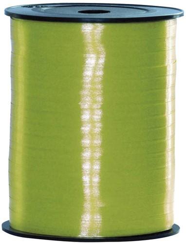 Cadeaulint Appeltjes Groen 5mm Breed, 500m op Rol