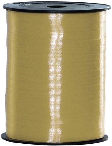 Cadeaulint Metallic Goud 5mm Breed, 250m op Rol