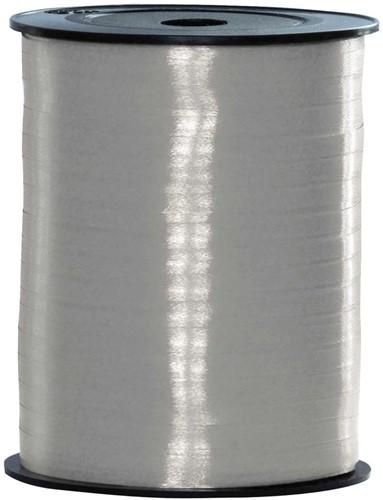 Cadeaulint Zilver 10mm Breed, 250m op Rol