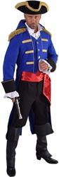 Heren Mantel Admiraal Blauw