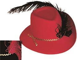 Musketiers hoed Rood Kind
