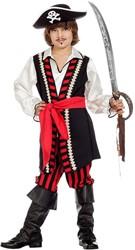 Piratenpak Kapitein voor jongens