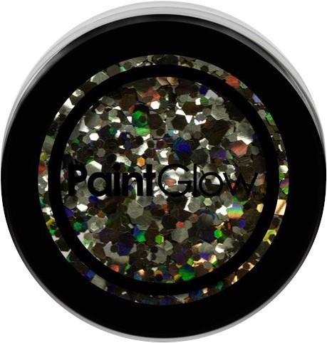 Paintglow Glitters Grof Zwart 3gr.