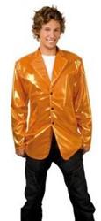 Disco Colbert Metallic Oranje