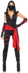 Dameskostuum Sexy Deadly Ninja