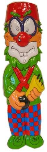 Wanddeco Clown met Toeter (40cm)