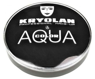 Aquacolor Kryolan 071 Zwart (55ml)