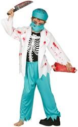 Halloweenkostuum Zombie Dokter voor kinderen