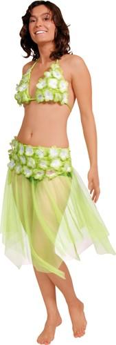 Hawai set Rok+Topje Groen