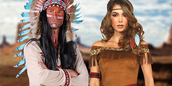 Voorpag - Banner 9: Indiaan