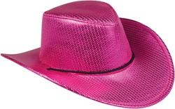 Cowboyhoed Disco Metallic Pink