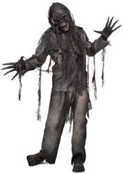 Halloween Kostuum Burned Zombie (5dlg)