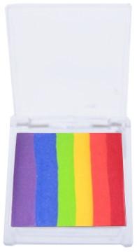 Splitcake Rood/Oranje/Geel/Lichtgroen/Blauw/Violet