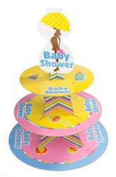 Etagiere Babyshower 30x30cm