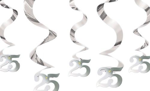 Streamin Swirl 25 Zilver