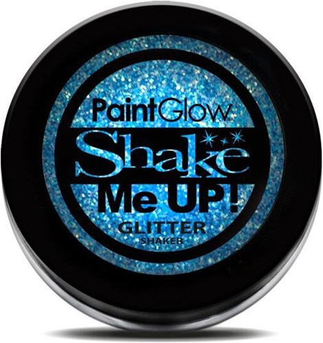 Paintglow Glitters Fijn Neon Blauw 3gr.